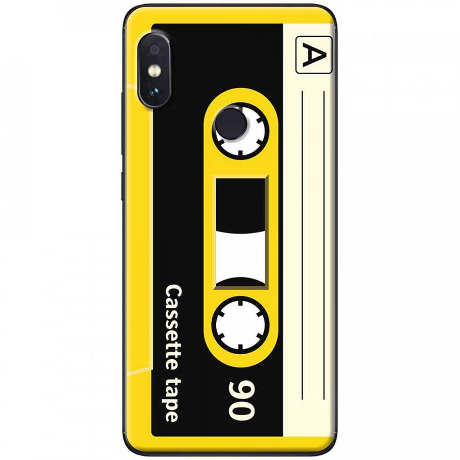 Ốp lưng dành cho Xiaomi Redmi Note 5 mẫu Cassette vàng