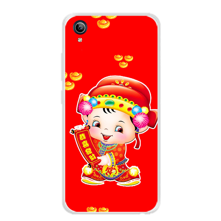 Ốp lưng dẻo cho điện thoại Vivo Y91C - 0052 THANTAI05 - Hàng Chính Hãng