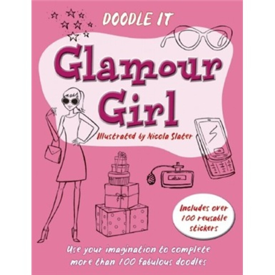 Doodle It: Glamour Girl