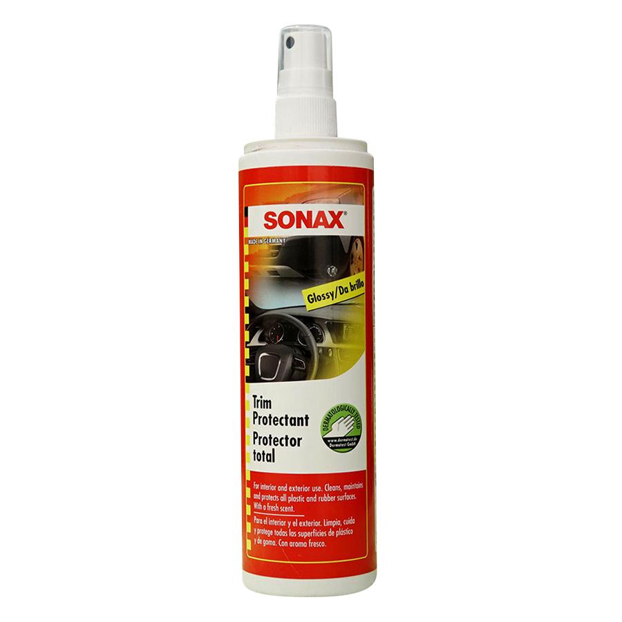 Bảo Dưỡng Nhựa Ngoài Xe Sonax Trim Protectant High Gloss Finish (300ml)