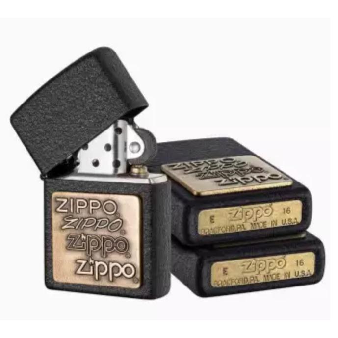 Bật Lửa Zippo Logo X3 - 964418 , 3860595951258 , 62_5565391 , 730000 , Bat-Lua-Zippo-Logo-X3-62_5565391 , tiki.vn , Bật Lửa Zippo Logo X3