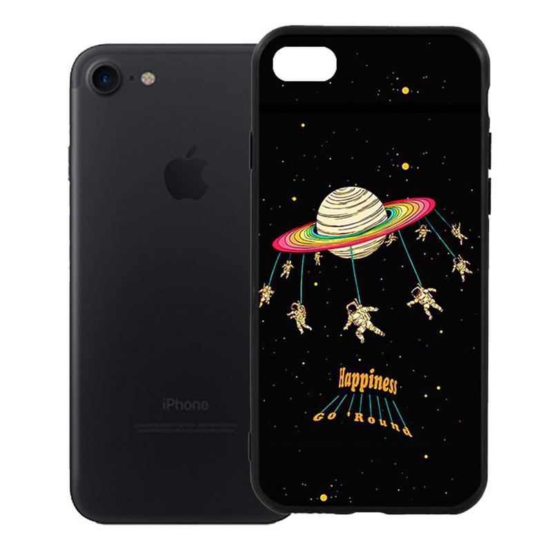 Ốp Lưng Viền TPU Cao Cấp Dành Cho iPhone 7 - Space 01