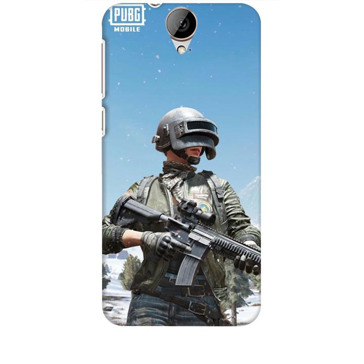 Ốp lưng dành cho điện thoại HTC E9 hinh PUBG Mẫu 02