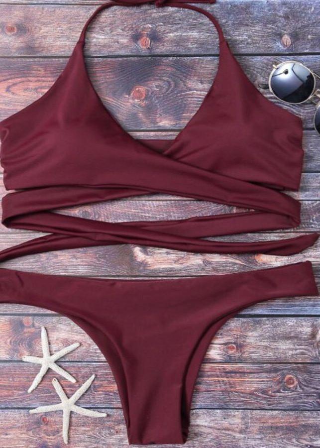 Bikini 2 mảnh dây đan - BK45