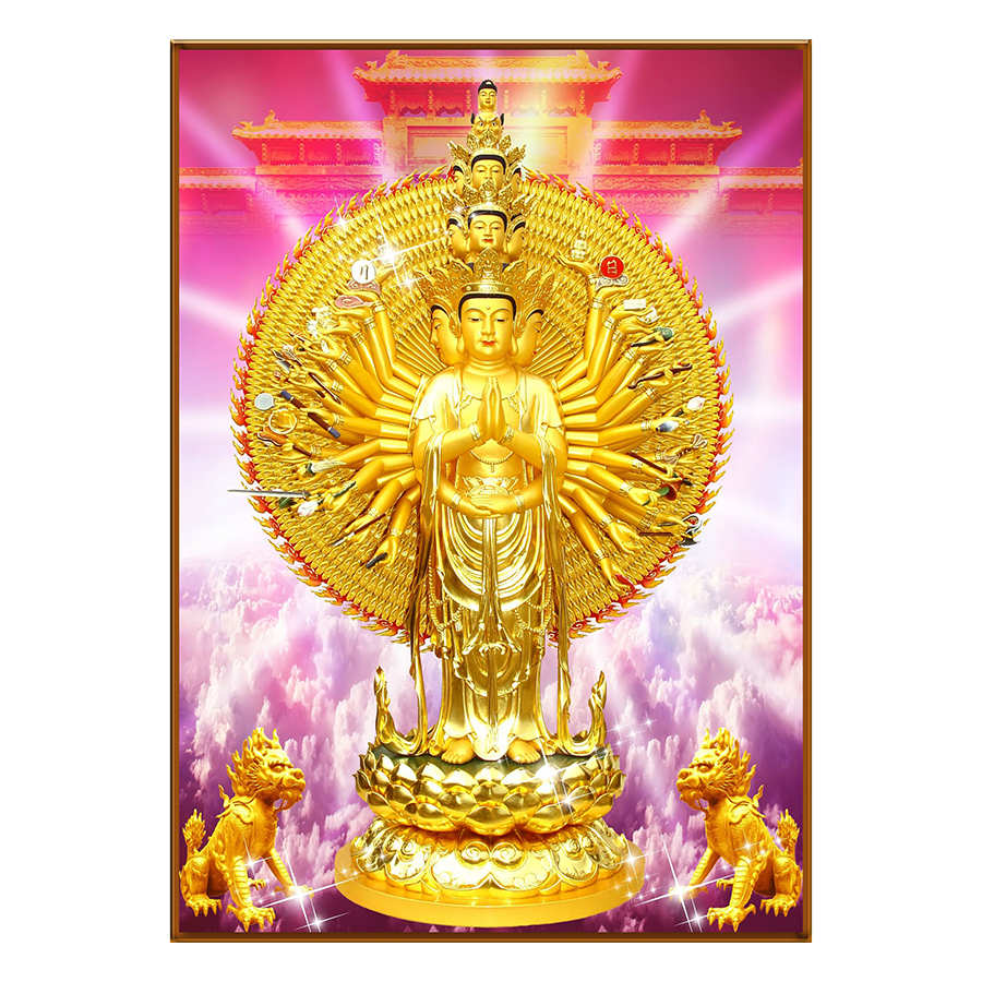 Tranh Phật Giáo Dán Tường - Mã 18