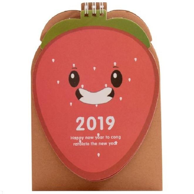 Lịch để bàn Carrot  2019