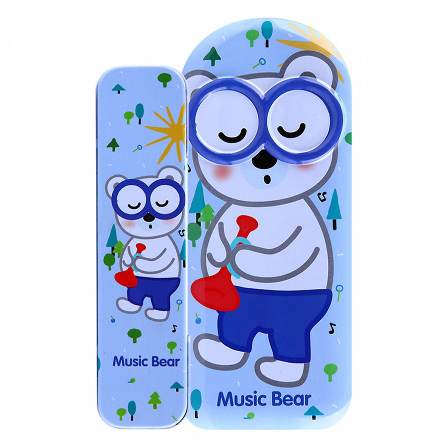 Hộp Bút Sắt VPP An Phát Music Bear