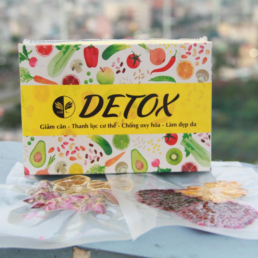 Liệu Trình Detox Trái Cây Sấy Lạnh Hộp 7 ngày