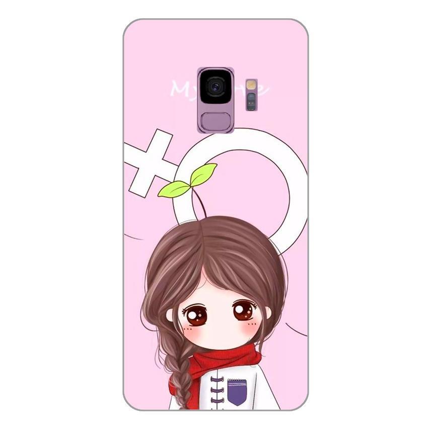 Ốp lưng dẻo cho Samsung Galaxy S9_Couple Girl 06