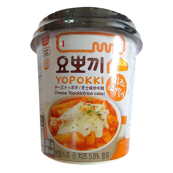 Bánh Gạo Topokki - Yopokki Vị Phomai Cốc (120g) - 1357416 , 6057803084069 , 62_6184895 , 47500 , Banh-Gao-Topokki-Yopokki-Vi-Phomai-Coc-120g-62_6184895 , tiki.vn , Bánh Gạo Topokki - Yopokki Vị Phomai Cốc (120g)