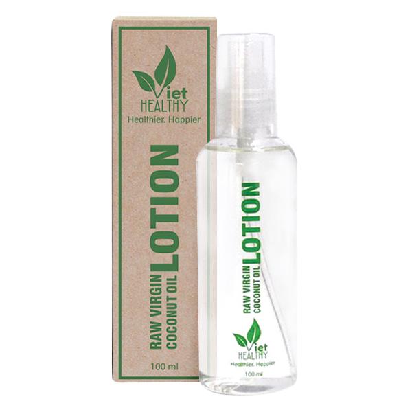 Lotion dưỡng da dầu dừa Viet Healthy 100ml