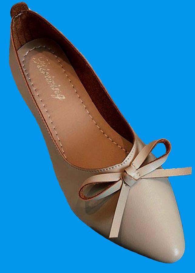 Giày búp bê mỏ nhọn da mềm có nơ xinh xắn-306 Kem - 9408364 , 6216478543381 , 62_3102587 , 390000 , Giay-bup-be-mo-nhon-da-mem-co-no-xinh-xan-306-Kem-62_3102587 , tiki.vn , Giày búp bê mỏ nhọn da mềm có nơ xinh xắn-306 Kem
