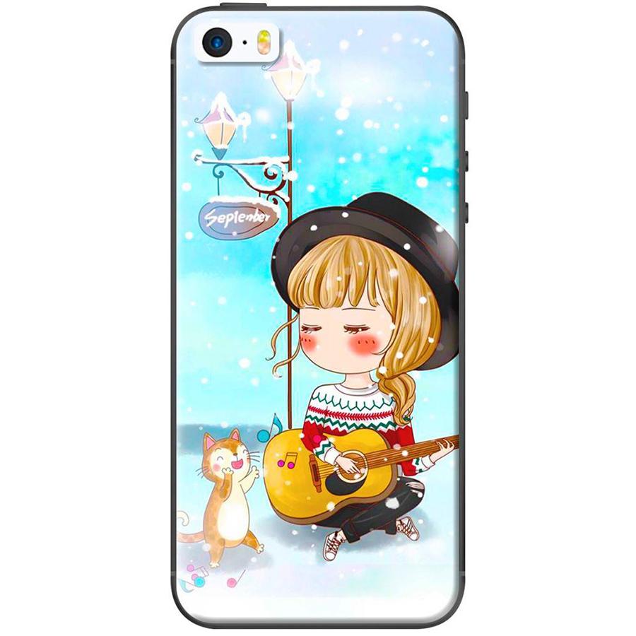 Ốp Lưng Dành Cho iPhone 5/ 5s - Anime Cô Gái Cầm Đàn - 1377350 , 5460055136454 , 62_6713315 , 120000 , Op-Lung-Danh-Cho-iPhone-5-5s-Anime-Co-Gai-Cam-Dan-62_6713315 , tiki.vn , Ốp Lưng Dành Cho iPhone 5/ 5s - Anime Cô Gái Cầm Đàn