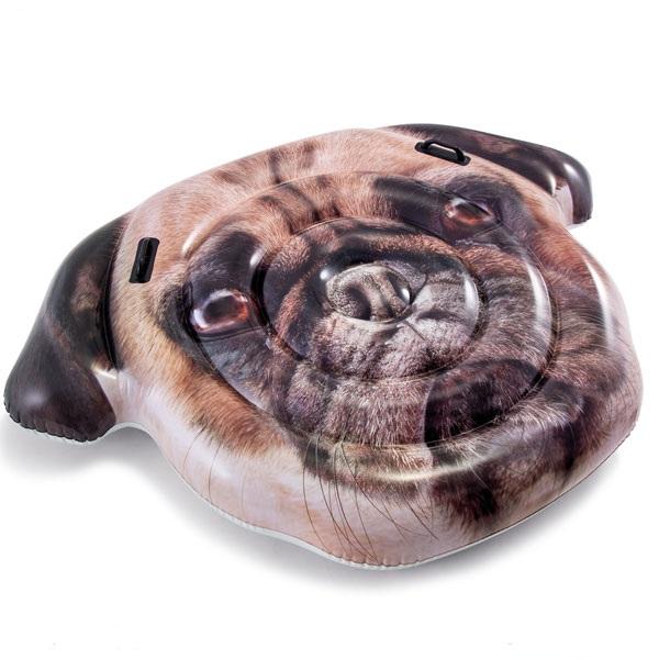 Phao bơi mặt chú chó pug khổng lồ INTEX 58785