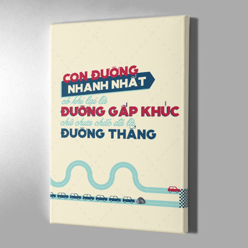 Tranh Canvas Trang Trí Mopi 138