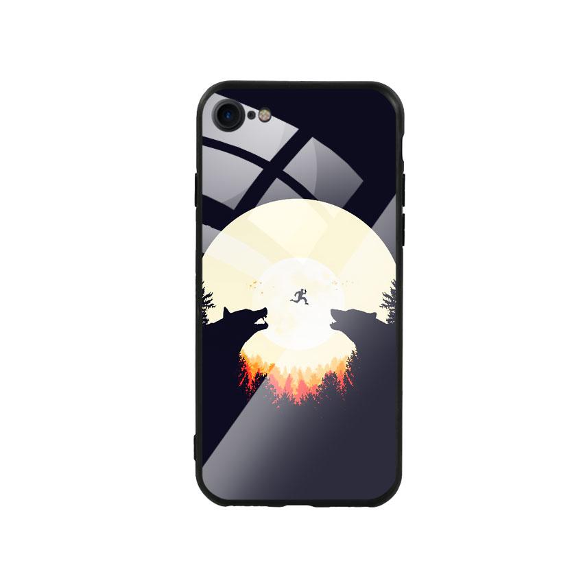 Ốp Lưng Kính Cường Lực cho điện thoại Iphone 7 / 8 -  Moon 05