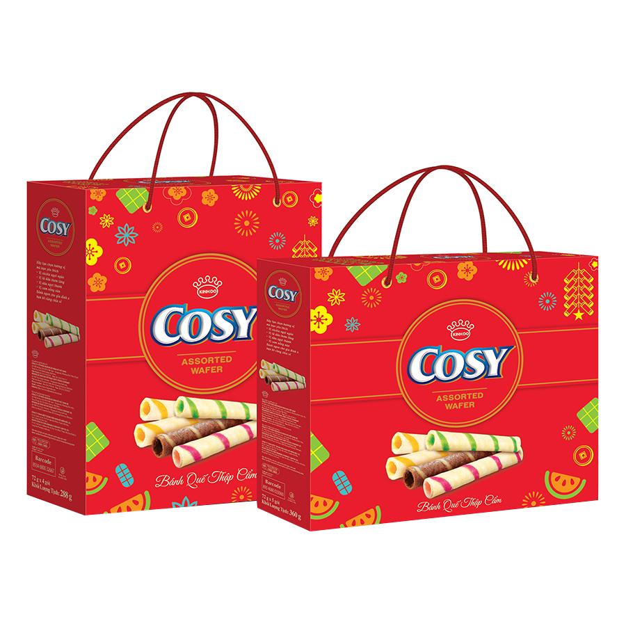 Bánh Quế Thập Cẩm Cosy (360g) - 5992818 , 8934680033466 , 62_7857456 , 51000 , Banh-Que-Thap-Cam-Cosy-360g-62_7857456 , tiki.vn , Bánh Quế Thập Cẩm Cosy (360g)