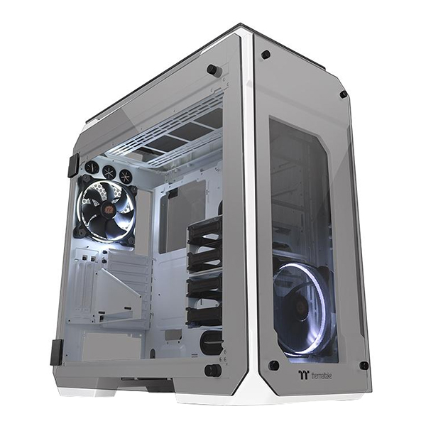 Vỏ Case Máy Tính Thermaltake View 71 Tempered Glass Snow Edition CA-1I7-00F6WN-00 E-ATX - Hàng Chính Hãng