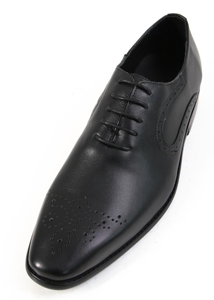 Giày Tây Da Nam Bò Ftt Leather - Đen