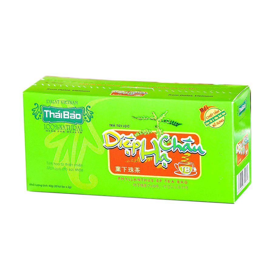 Hộp Trà Diệp Hạ Châu Túi Lọc Thái Bảo mẫu xanh (20 Tép x 2g) - 1759537 , 8778963299275 , 62_12443002 , 22000 , Hop-Tra-Diep-Ha-Chau-Tui-Loc-Thai-Bao-mau-xanh-20-Tep-x-2g-62_12443002 , tiki.vn , Hộp Trà Diệp Hạ Châu Túi Lọc Thái Bảo mẫu xanh (20 Tép x 2g)