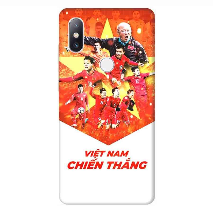 Ốp Lưng Dành Cho Xiaomi Mi Mix 2S AFF Cup Đội Tuyển Việt Nam - Mẫu 4