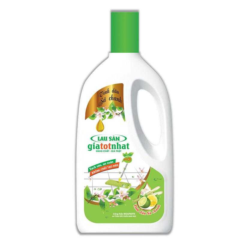 Nước lau sàn tinh dầu sả chanh