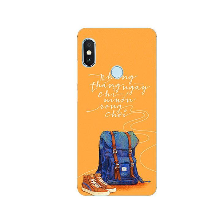 Ốp Lưng Dẻo Cho Điện thoại Xiaomi Redmi Note 5 - Tháng Ngày Rong Chơi