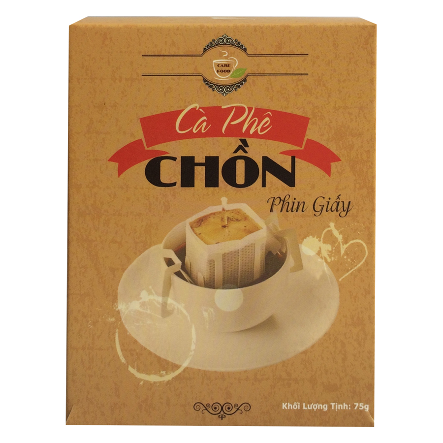 Cafe Chồn Phin Giấy Care Food Việt Nam (75g)
