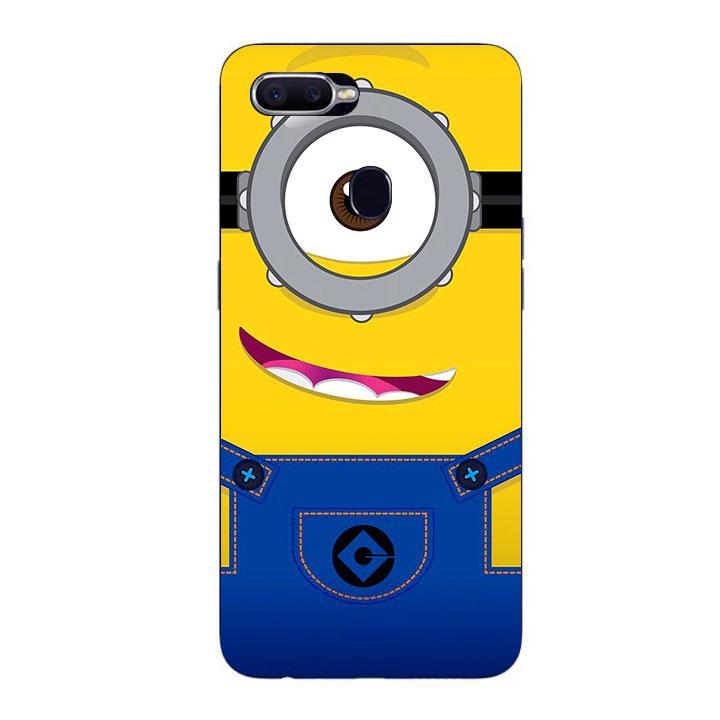 Ốp Lưng Dẻo Cho Điện thoại Oppo F9 - Minion 01