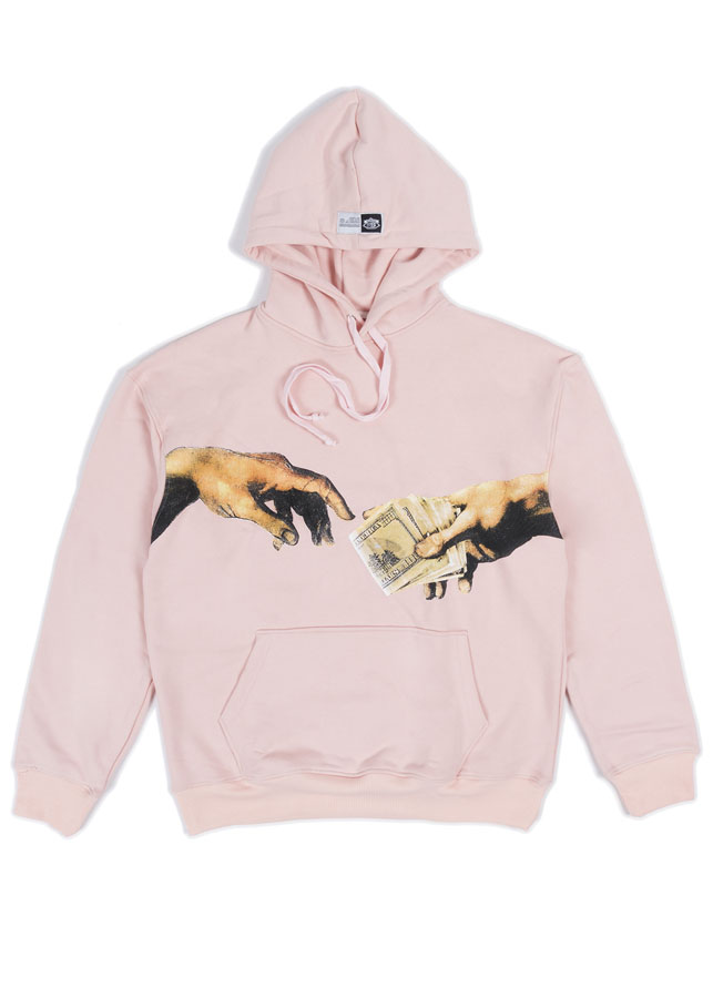 """Áo nữ """"8TH DAY"""" HOODIE IN PINK"""
