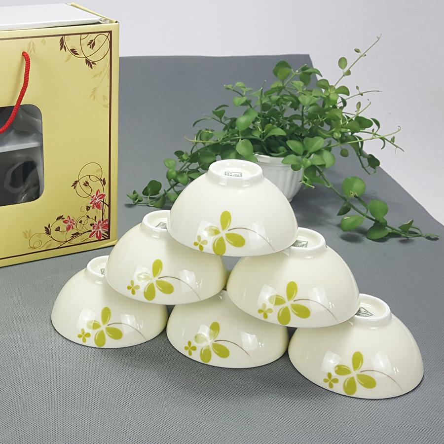 Bộ bát ăn cơm men kem vẽ hoa may mắn cỏ bốn lá chính hãng gốm sứ Bát Tràng - 5087317 , 3226202420539 , 62_16102697 , 228000 , Bo-bat-an-com-men-kem-ve-hoa-may-man-co-bon-la-chinh-hang-gom-su-Bat-Trang-62_16102697 , tiki.vn , Bộ bát ăn cơm men kem vẽ hoa may mắn cỏ bốn lá chính hãng gốm sứ Bát Tràng