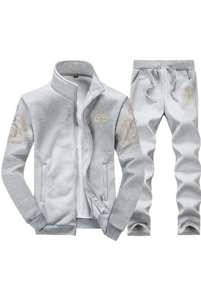 Bộ quần áo khoác mùa đông nam giữ ấm cơ thể hot 2018