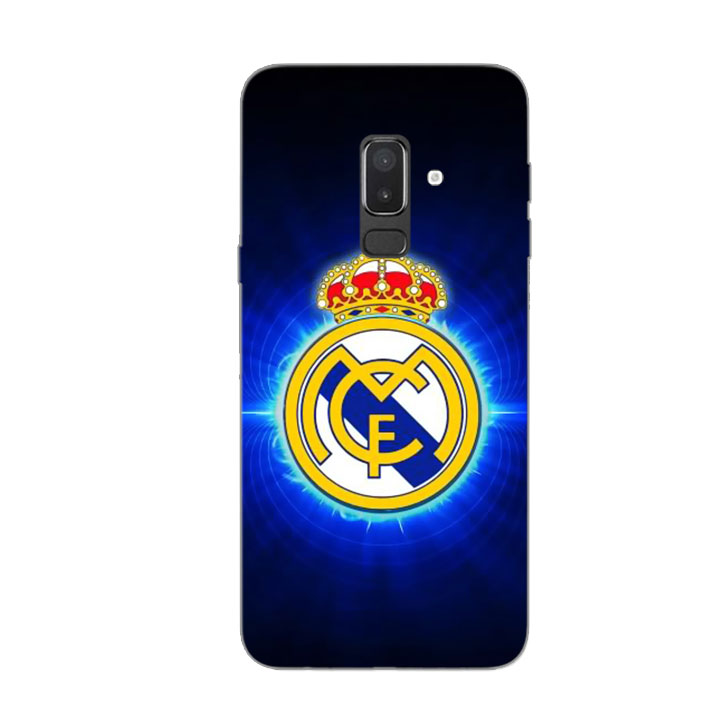 Ốp Lưng Dẻo Cho Điện thoại Samsung Galaxy J8 - Clb Real Madrid 01