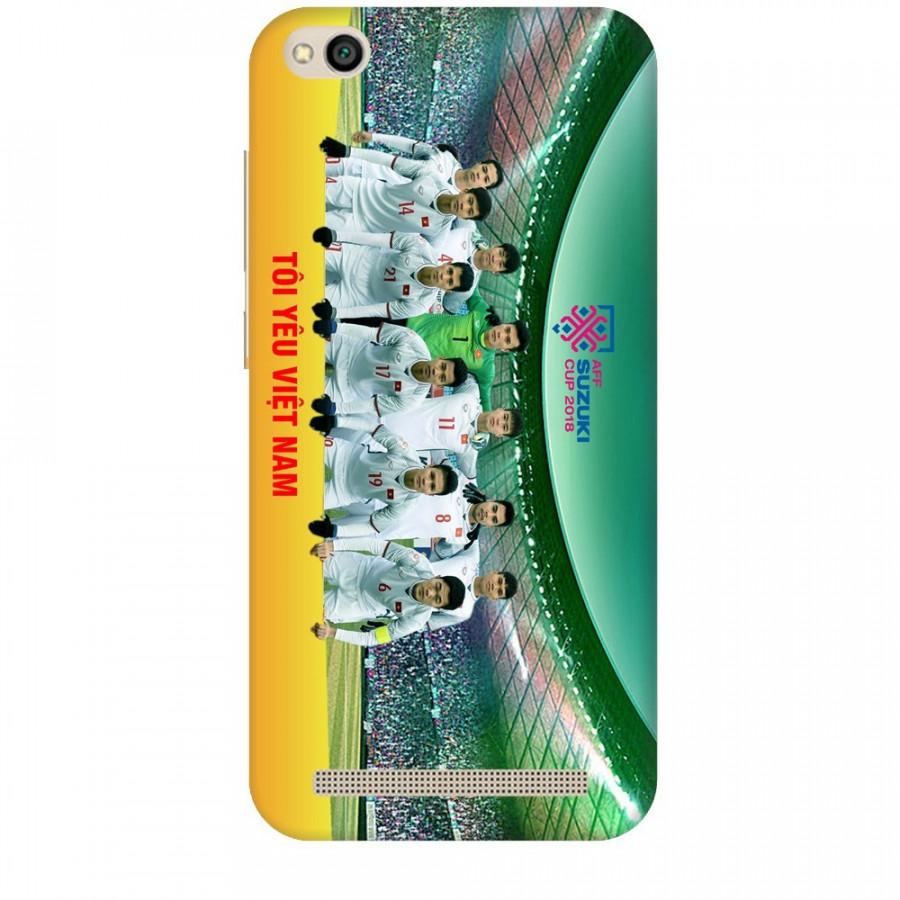 Ốp Lưng Dành Cho Xiaomi Redmi 5A AFF Cup - Đội Tuyển Việt Nam Mẫu 4