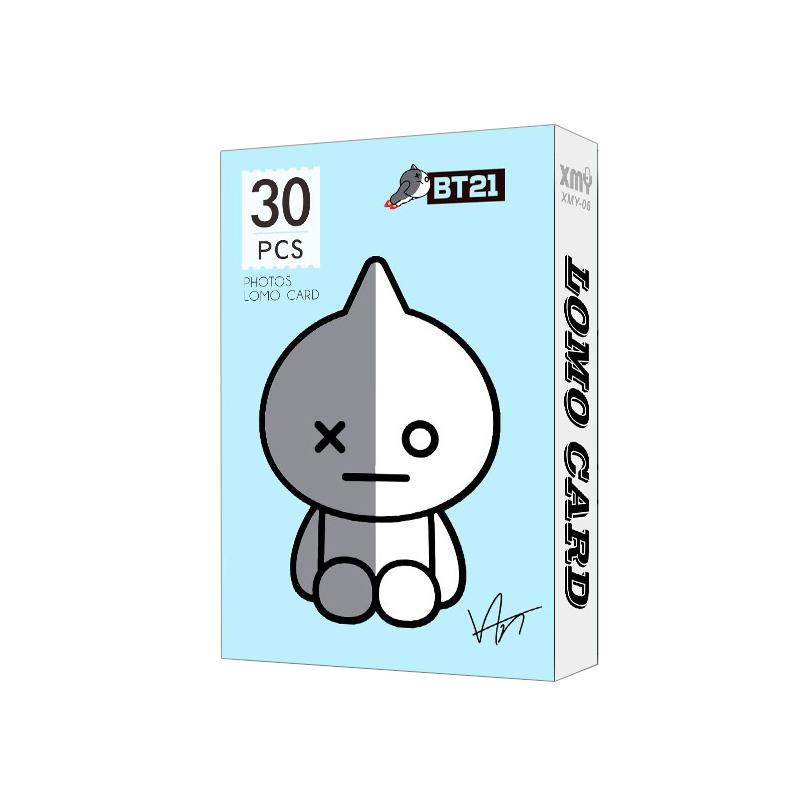Bộ Lomo card VAN BT21 BTS mới nhất
