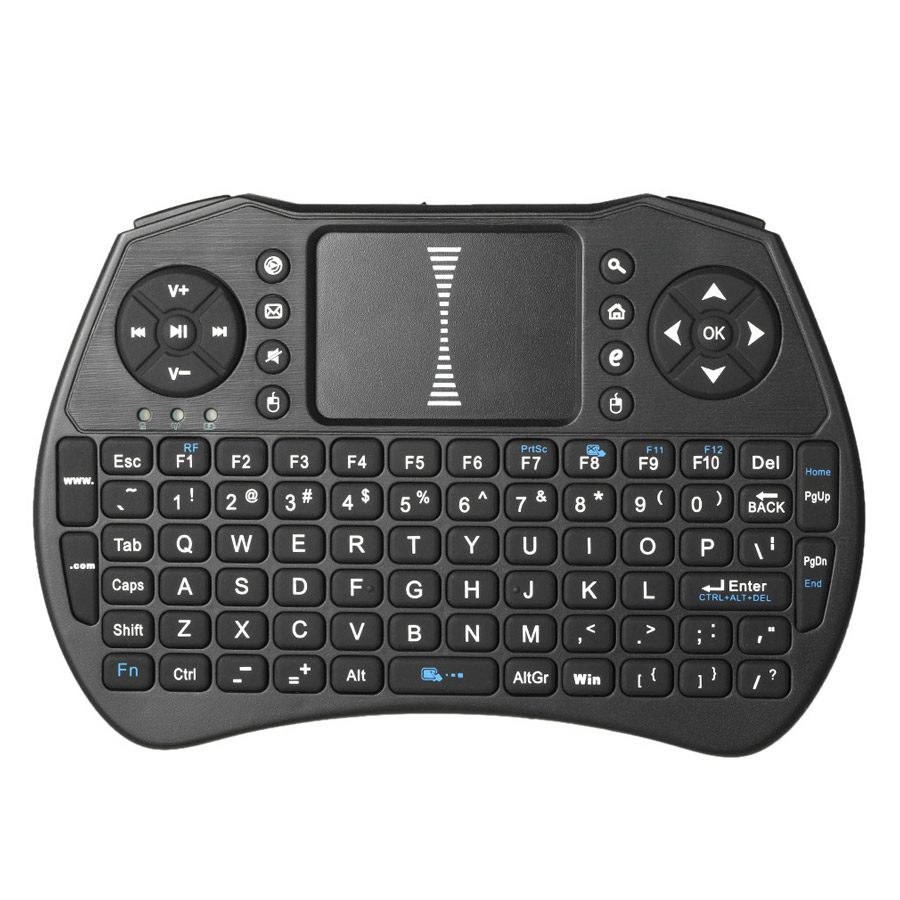 2.4GHz Wireless Keyboard Air Mouse Touchpad Handheld Remote Control for Android TV BOX PC Smart TV - 1847812 , 8307411593193 , 62_13966023 , 414000 , 2.4GHz-Wireless-Keyboard-Air-Mouse-Touchpad-Handheld-Remote-Control-for-Android-TV-BOX-PC-Smart-TV-62_13966023 , tiki.vn , 2.4GHz Wireless Keyboard Air Mouse Touchpad Handheld Remote Control for Androi