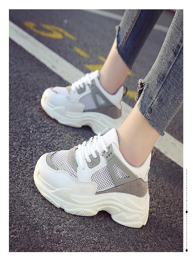 Giày Sneaker Nữ Độn Đế Đẹp phong cách Hàn Quốc - 2149518 , 7079614593294 , 62_13719075 , 1150000 , Giay-Sneaker-Nu-Don-De-Dep-phong-cach-Han-Quoc-62_13719075 , tiki.vn , Giày Sneaker Nữ Độn Đế Đẹp phong cách Hàn Quốc