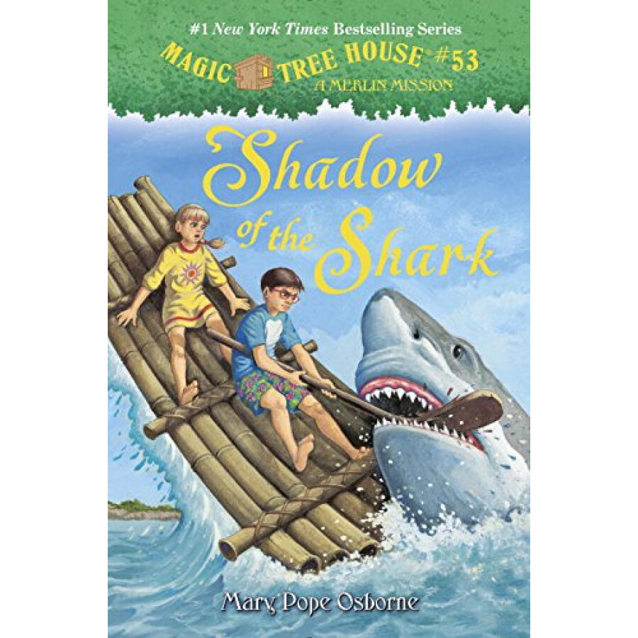 Magic Tree House #53: Shadow of the Shark - 1236809 , 9034595721379 , 62_5267973 , 1719000 , Magic-Tree-House-53-Shadow-of-the-Shark-62_5267973 , tiki.vn , Magic Tree House #53: Shadow of the Shark