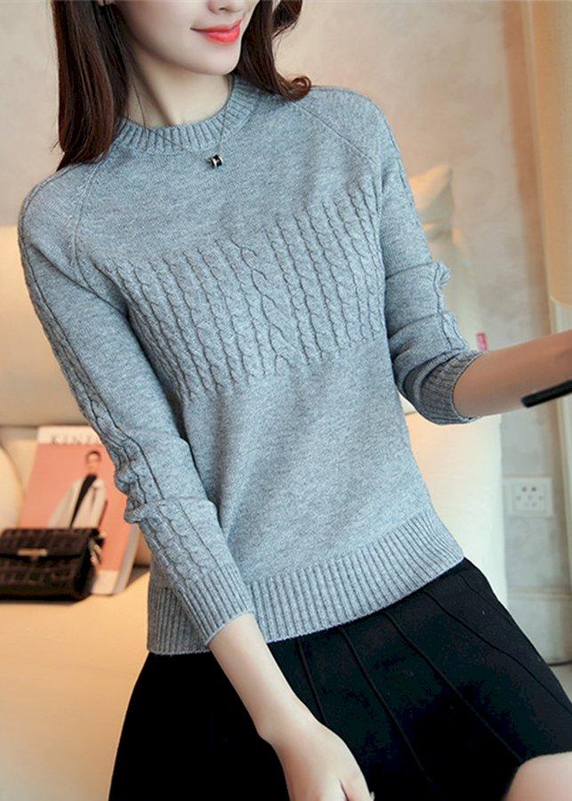 Áo len nữ freesize al012(xám)