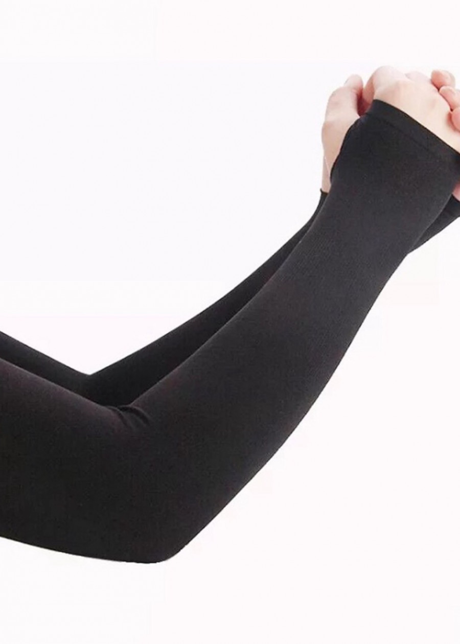 Bộ găng tay đi nắng siêu bền siêu đẹp màu đen