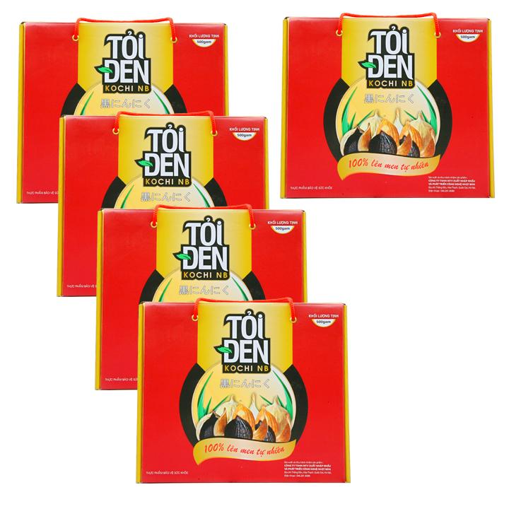 Tỏi đen Kochi cô đơn 500g x 5 hộp - 16691564 , 7677364028488 , 62_2995827 , 4083000 , Toi-den-Kochi-co-don-500g-x-5-hop-62_2995827 , tiki.vn , Tỏi đen Kochi cô đơn 500g x 5 hộp