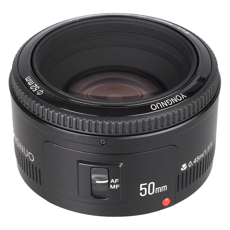 Ống Kính Yongnuo 50mm F1.8 Cho Nikon - Hàng Nhập Khẩu