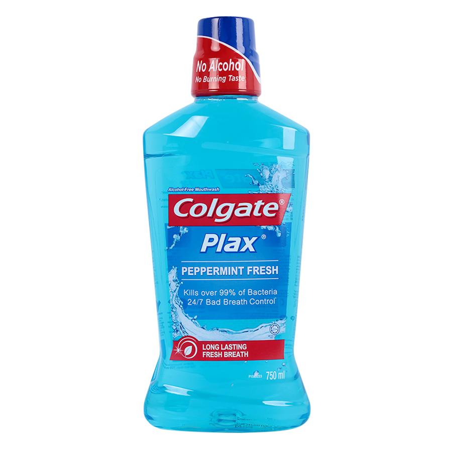 Nước Súc Miệng Colgate Plax Freshmint (750ml) Xanh Dương - 1090427 , 8738218375215 , 62_4049623 , 119900 , Nuoc-Suc-Mieng-Colgate-Plax-Freshmint-750ml-Xanh-Duong-62_4049623 , tiki.vn , Nước Súc Miệng Colgate Plax Freshmint (750ml) Xanh Dương
