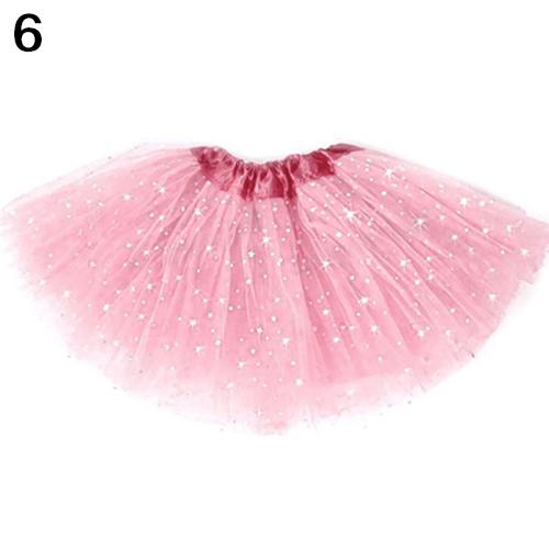 Cute Girls Kid Princess Tulle Tutu Skirt Bling Sequins Ballet Dance Dress for 2-8Y