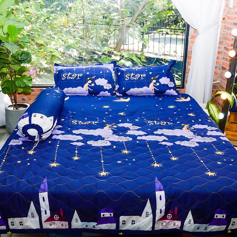 Bộ sản phẩm 5 món , đặc biệt chăn gối chần gòn vải cotton hoa P09 - 7259206 , 2085143753639 , 62_15147577 , 600000 , Bo-san-pham-5-mon-dac-biet-chan-goi-chan-gon-vai-cotton-hoa-P09-62_15147577 , tiki.vn , Bộ sản phẩm 5 món , đặc biệt chăn gối chần gòn vải cotton hoa P09