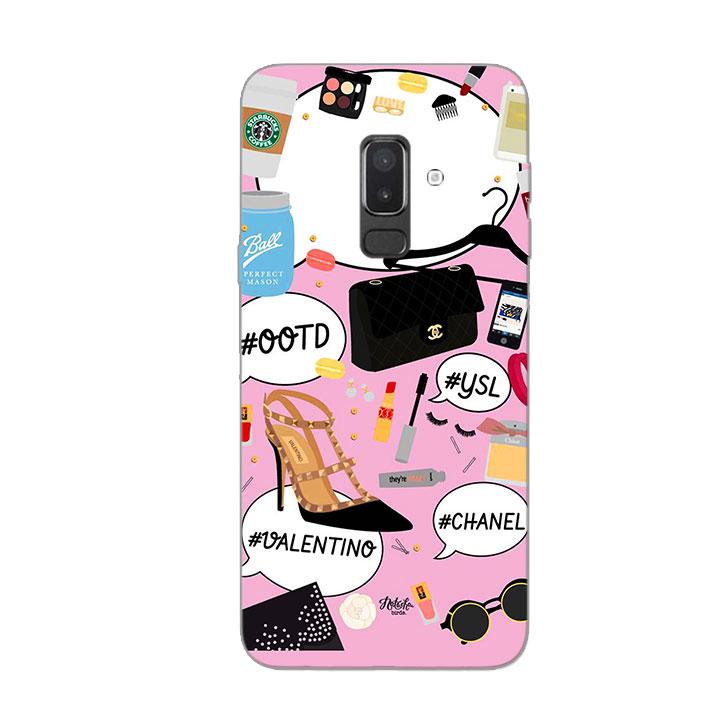 Ốp Lưng Dẻo Cho Điện thoại Samsung Galaxy J8 - Dream Girl 01