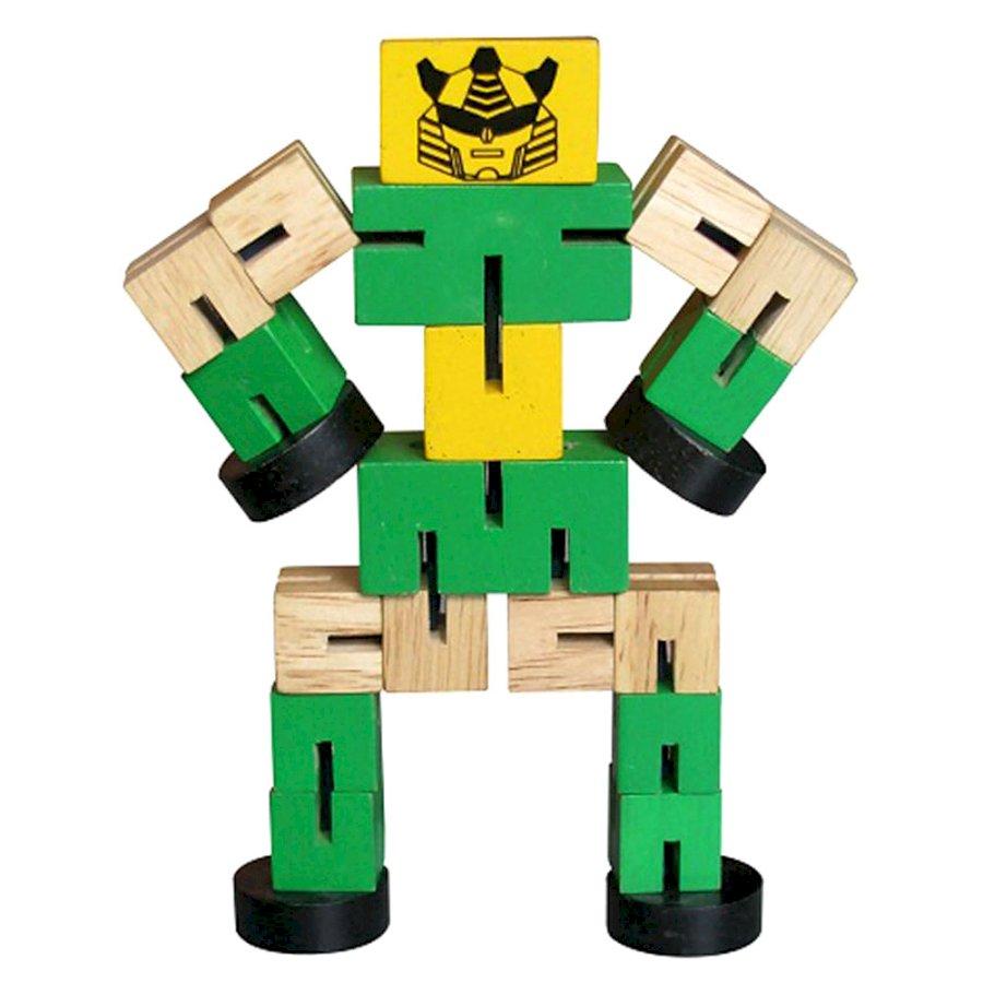 Đồ chơi gỗ Luồn Thun Robo