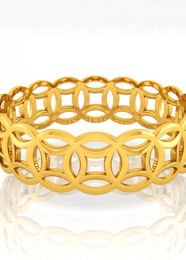 Nhẫn Kim Tiền Hava mạ vàng 24k