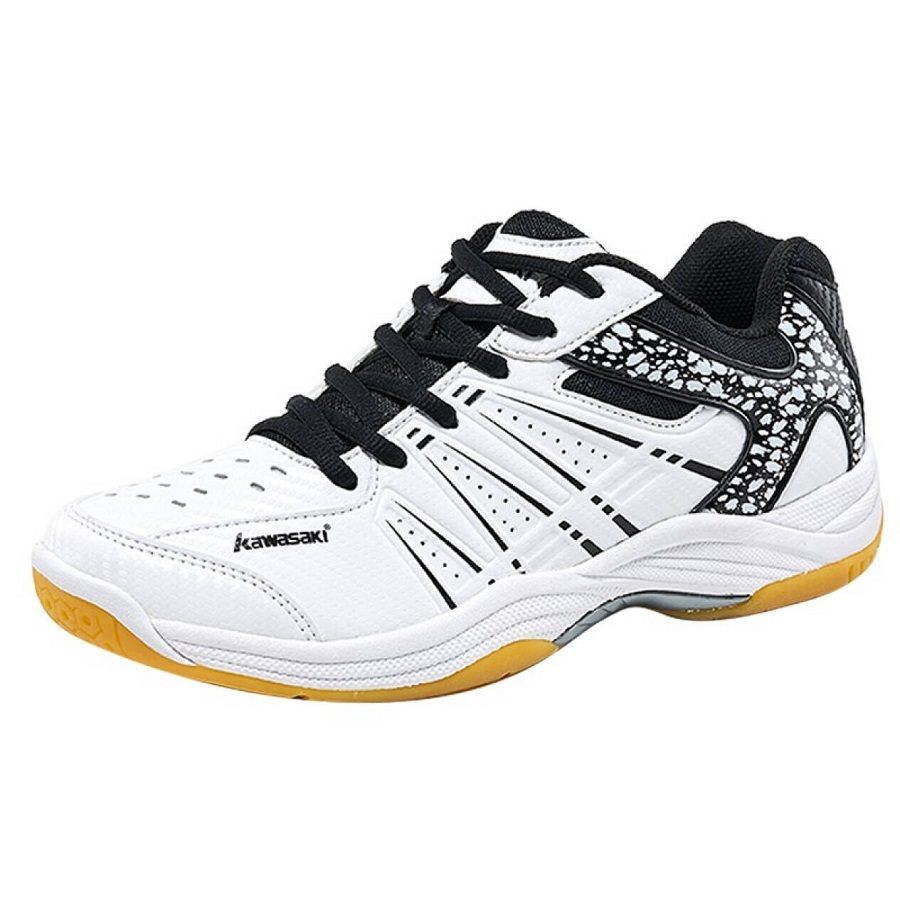 Giày Cầu lông Kawasaki K063 màu trắng đen - 1475272 , 3531334863667 , 62_10462319 , 930000 , Giay-Cau-long-Kawasaki-K063-mau-trang-den-62_10462319 , tiki.vn , Giày Cầu lông Kawasaki K063 màu trắng đen