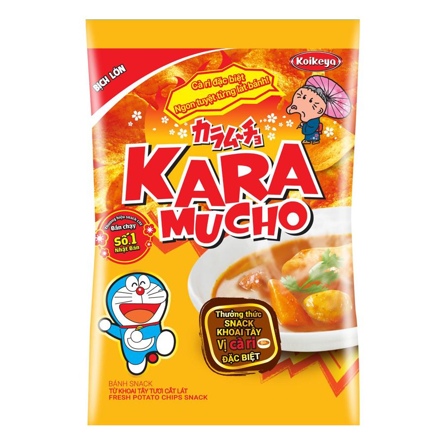 Snack Khoai Tây Karamucho Vị Carry